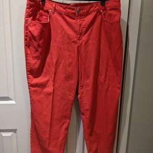 Spring or summer weight jeans
